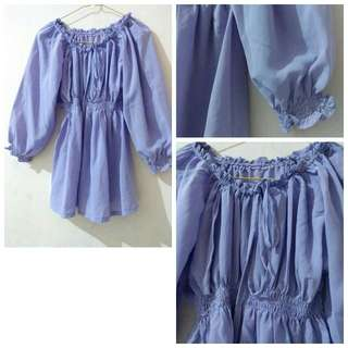 Sabrina Blouse Purple