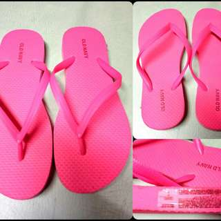 OLD NAVY Flip Flops (Pink)