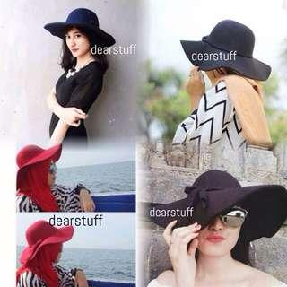 Topi Pantai Floppy Hat