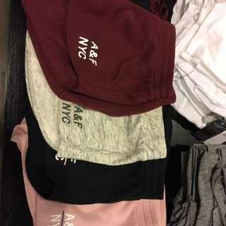 A&F 棉質短褲