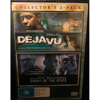 Deja Vu / Enemy of the State DVD 2-Pack