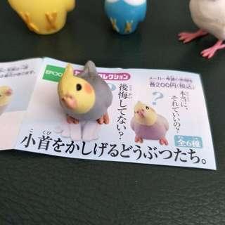 全新// 玄鳳鸚鵡扭蛋