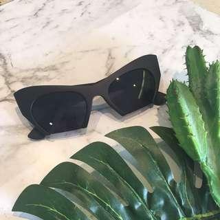Sharp Cat Eye Sunglasses