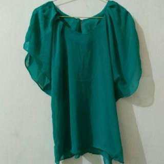 Preloved Chiffon Tosca Blouse