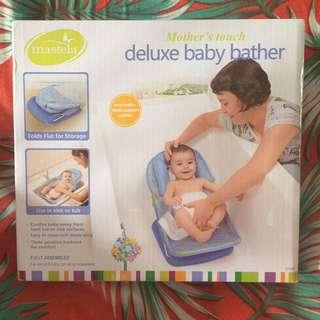 NEW Eks Kado Mastela Deluxe Baby Bather