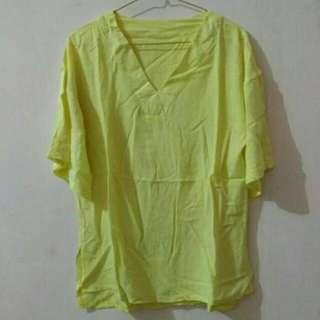 Preloved Yellow Blouse