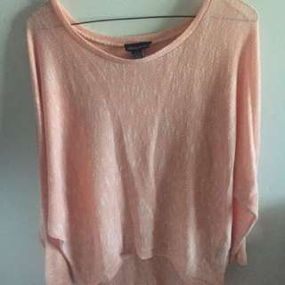 Pink Baggy Long Sleeve