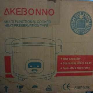 Rice Cooker Akebonno