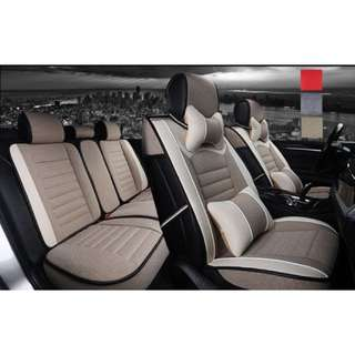 High Quality Full Complete Car Seat Cover Set Car Seat Linen Cushions Supplies Automotive Interior Seat Cover Car Cushion