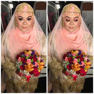Nikah makeup+styling