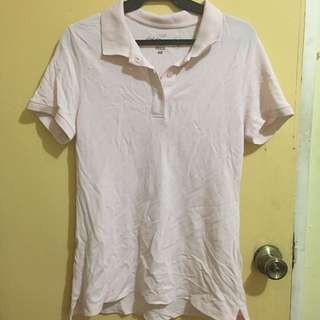 H&M Pink Polo Shirt