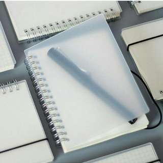 A6 MUJI NOTEBOOK with Rope HANDY SIZE