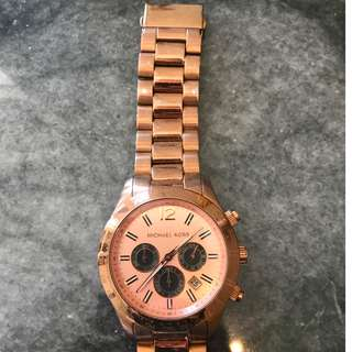 Michael Kors Watch in Rose Gold