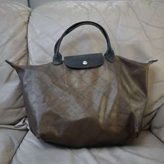Longchamp Copper Handbag