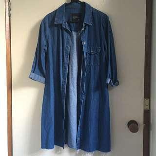 Zara Denim Blue Jacket / Dress