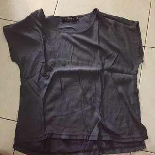 Zalora Zipper Shirt