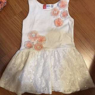 White Dress From Big And Small Co