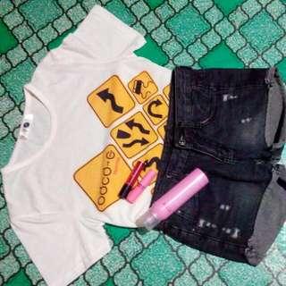 Tantterred Black Short