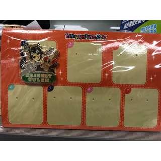 香港迪士尼徵章 Disney Pin 灰熊山谷連卡板