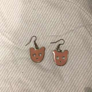 Karen Walker Bear Earrings