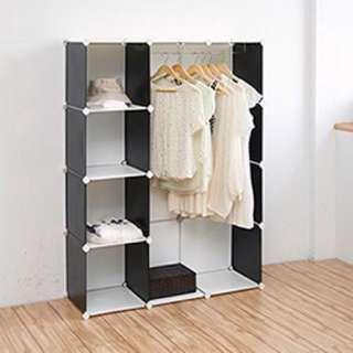 16格組合衣櫥 純白款