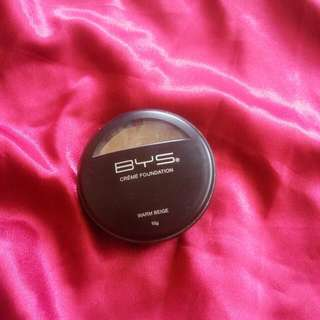 Bys Creme Foundation In Warm Beige