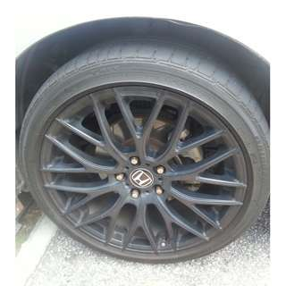 18 inches of Sport Rims