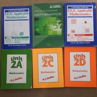 selection of senior school math books