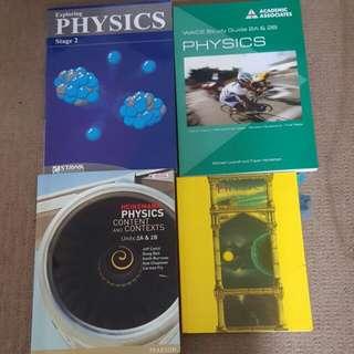 selection of senior physics textbooks