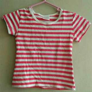 Striped shirt for 3-4 y/o