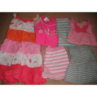 Target, Bonds Girls Mixed Clothing Lot Size 1