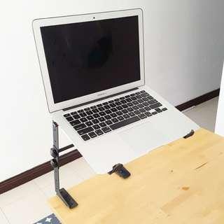 DJ Controller & Laptop DJ Stand Adjustable Height