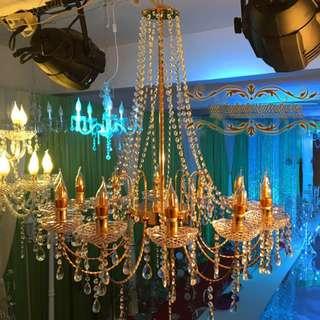 12 Head Chandelier Ceiling Lights