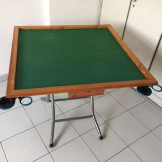 Mahjong Table (Solid Wood Table)