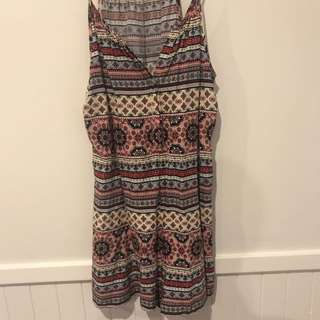 Patterned Playsuit / Romper