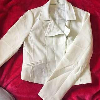 White Formal Blazer