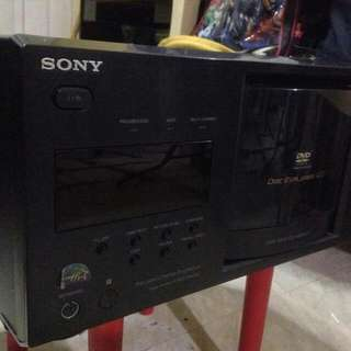 Sony DVP-CX985V 400 Disc Progressive DVD / SACD Player (110v) (Defective But Can Be Repair)