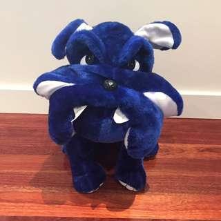 Bulldog Mascot Soft Toy