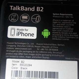 Huawei Talkband B2 Smartwatch