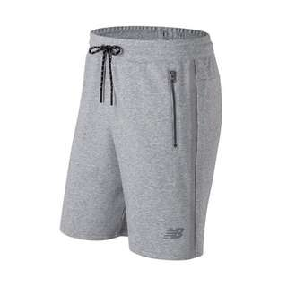 Newbalance 棉質針織短褲 AMS73531AG 灰-男款