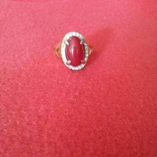 Reprice!!! Cincin Batu Merah Ruby