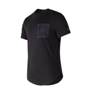 🚚 Newbalance 口袋造型短袖T恤 AMT73503BK 黑-男款
