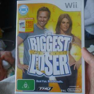 Wii Biggest Loser Game