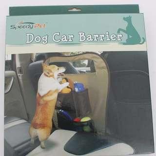 【瑕疵品出清】寵物汽車坐椅置物安全擋片