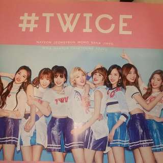 TWICE Japan Poster
