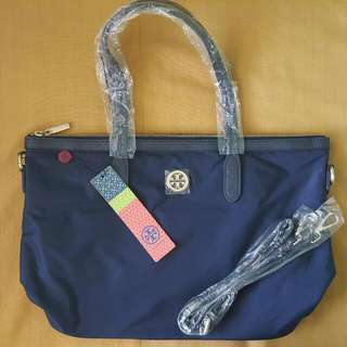 Tory Burch Tote Bag (BLUE)