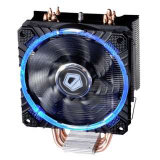 BNIB - ID-Cooling SE-214C 120mm 4 Heatpipe CPU Cooler with Blue LED Ring Fan