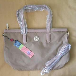 Tory Burch TOTE BAG (BEIGE)