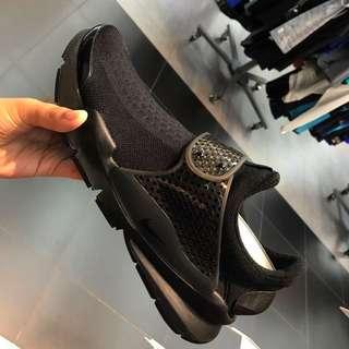 現貨 Nike Sock Dark女版全黑款