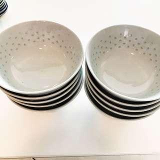 Porcelain Eating Bowls